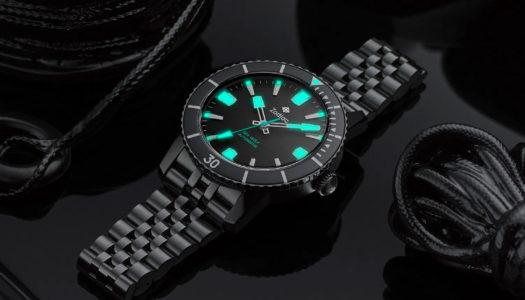 Zoom sur la Zodiac Super Sea Wolf 53 Compression Automatic Black