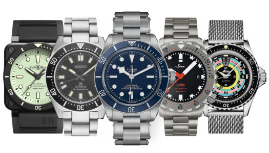 Nos 5 montres de plongée préférées pour cet été