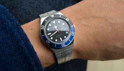 Une Journée avec la Timex M79 Automatic «Batman»