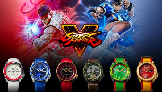 Retour sur l'Édition Limitée  Seiko 5 Sport Street Fighter V
