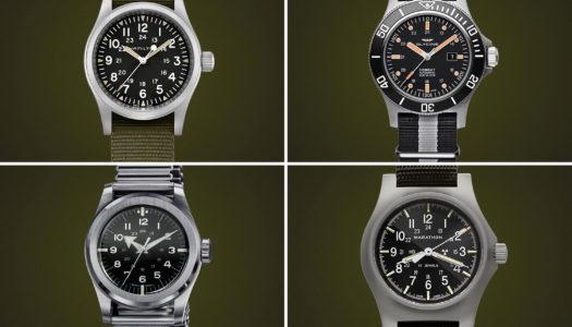 Découvrez 5 de nos «Field Watches» Préférées