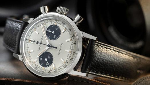 Hamilton Intra-Matic Chronograph H : de la mécanique pour les puristes