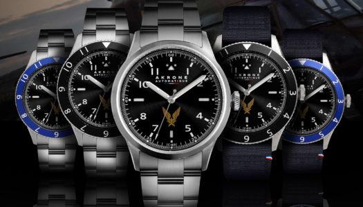 Akrone C-03 ALAT : une nouvelle montre militaire pour la bonne cause