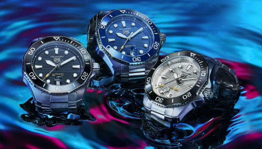 TAG Heuer lance la collection Aquaracer Professional 300