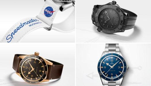 Omega : nouvelles Seamaster et bracelets NASA en Velcro