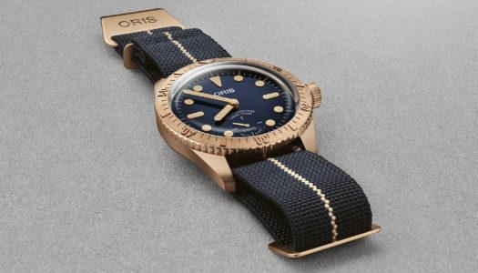 Oris Carl Brashear Calibre 401 : Un troisième hommage avec bronze et petite seconde