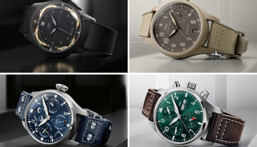 Watches & Wonders 2021 : IWC met à jour sa collection Pilot