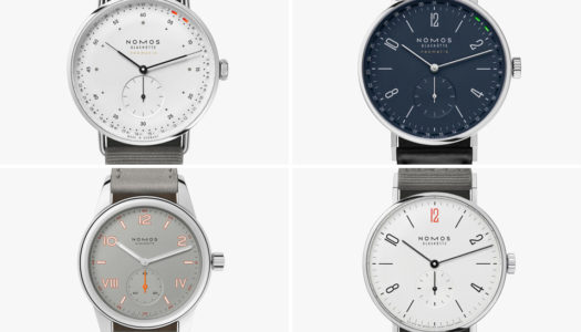 Watches & Wonders 2021 : Les Nouveautés chez Nomos