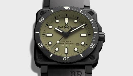 Bell & Ross Propose une Interprétation Militaire de la BR 03-92 Diver