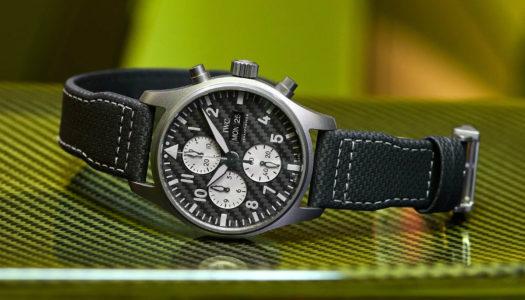 IWC x AMG : une Montre d'Aviateur Chronographe Inspirée de la Formule 1