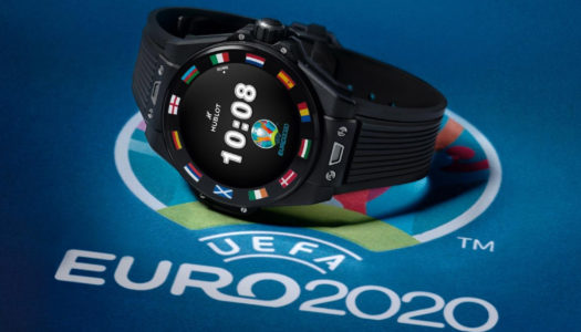 Hublot révolutionne le monde du foot avec la Big Bang e UEFA Euro 2020
