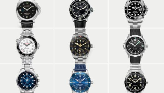 10 montres de plongée de luxe incontournables