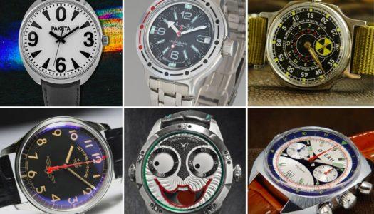 6 marques de montres russes à connaître